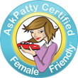 The AskPatty Certified Female Friendly Program
