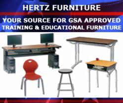 GSA Training & Educational Furniture from Hertz Furniture