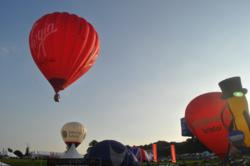 Virgin Hot Air Balloon at Bristol Balloon Fiesta