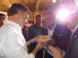 Colombian President Santos Is Introduced to SereniGy Coffee Products by CEO Jay Noland