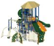 Playground design for new play system at San Pasqual Band of Mission Indians Reservation
