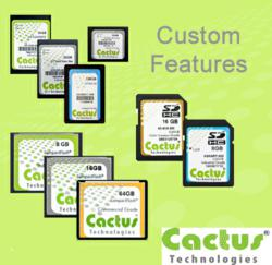 Cactus Technologies Limited Custom Features
