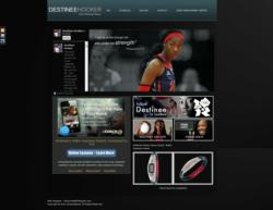 Website Design of DestineeHookerVolleyball.com