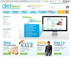 New DietDirect Ecommerce Website