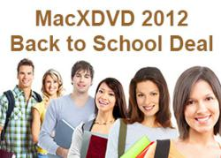 MacXDVD 2012 Back to School Deal