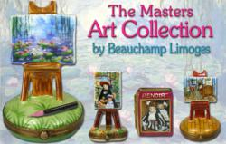 The Masters Art Collection Limoges Boxes by Beauchamp www.LimogesBoxCollector.com