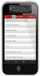Virtual Waiter Mobile Application: Guests can order and pay securely!