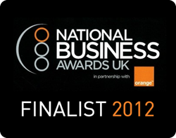 Lovestruck.com is a finalist at the National Business Awards 2012