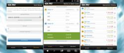 OKPAY mobile website screen shot