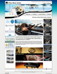 Piano Sale Location in Coral Gables, Miami, Florida
