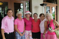Think Pink Golf Event at Fiddler's Creek, Naples Florida