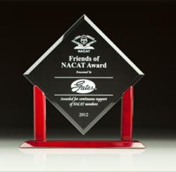 Gates Corporation Receives Friends of NACAT Award for Supporting and Promoting Automotive Education