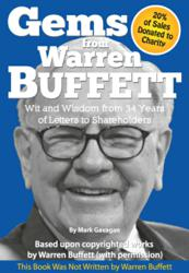 "Front cover of the new ""Gems from Warren Buffett"" book"