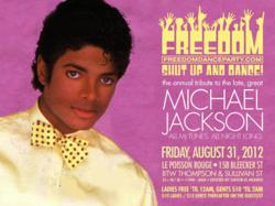 The Freedom Party Michael Jackson Tribute