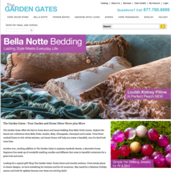 The Garden Gates online retail store
