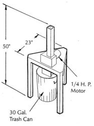 can crusher plans, DIY can crusher. Aluminum Can Crusher Plans