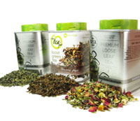 Cool Mint Trio: mint tea set