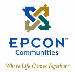 gI 77968 Epcon logo tag Epcon Community Builder, Stone Works Partners, LLC viert Succes en biedt speciale prijzen voor Luxe Nieuwbouw woningen bij De dorpen van River Oaks