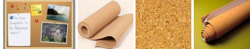 Cork Board & Cork Board Sheets
