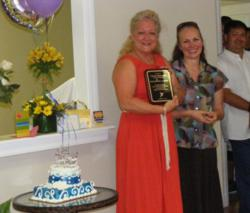 Narconon Florida Cheryl Alderman Receives Award