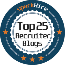 Top 25 Must Read Blogs for Recruiters Badge