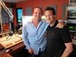 Wild 95.5's Kevin Rolston and Dr. Alan Bauman
