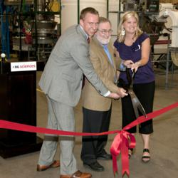 XG Sciences ribbon cutting for new manufacturing facility