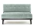 The Trace Blue Loveseat from Armen Living