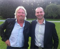 Thanks in part to improvements CRE made to the Top Cashback website, the company was named as the UK's fifth-fastest-growing business, and was invited to Sir Richard Branson's home to celebrate.