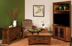 The Logan Family Room Collection features a timeless design and impressive construction.