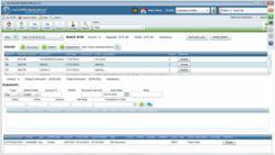 payment posting module screenshot