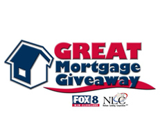 Nations Lending Corporation-FOX 8 Launch Great Mortgage Give-Away Logo