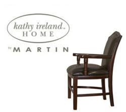 Kathy Ireland Home Logo over Mount View Guest Chair
