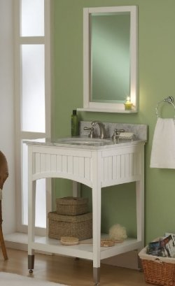 Finding Hidden Bathroom Storage Under Your Open Vanity. Sagehill Designs  Sa2421 24