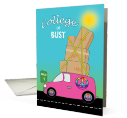 College or Bust - Back to School Cards