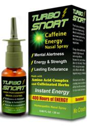 Turbo Snort Caffeine Energy Nasal Spray