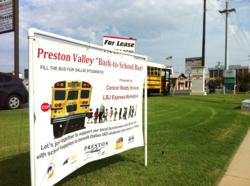 LBJ Express, Preston Valley, Dallas ISD, back to school