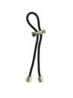 Gold Nugget on Black Elastic