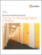 Cover art for the Heardable report, The Top 10 Self Storage Brands in America