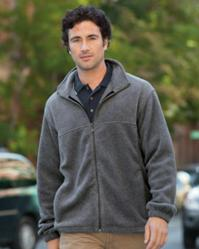 Harriton Mens 8 oz. Full-Zip Fleece Jacket - M990