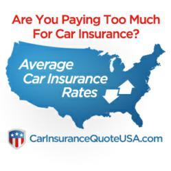 Average Car Insurance Rates