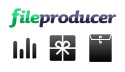 FileProducer: Benchmarks, Free Files, and Paid Files