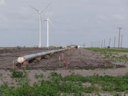Crude pipeline construction