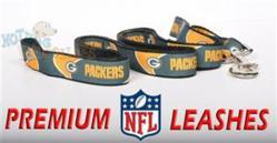 NFL Football Dog Leashes