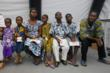 Four young siblings and a cousin undergo medical screening