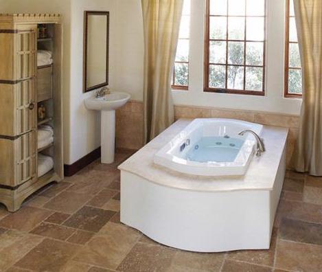salerno air bath tub from jacuzzi