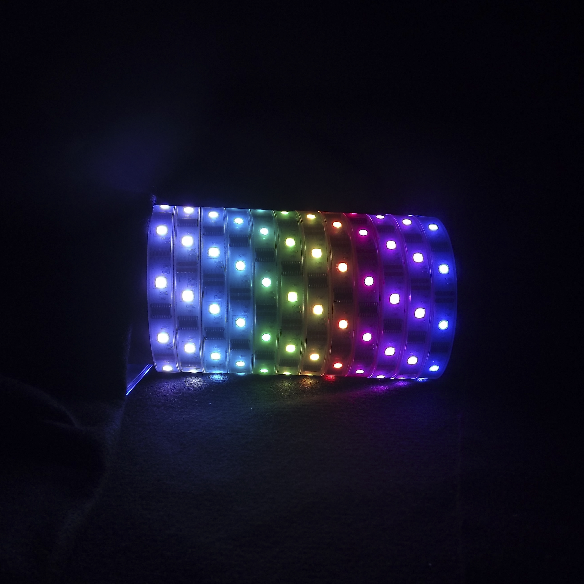 launches rgb colorchase led strip lights. Black Bedroom Furniture Sets. Home Design Ideas