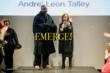Vogue's contributing Editor Andre Leon Talley and Fashion Designer Diane Von Furstenberg