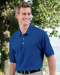 Devon & Jones Men's Pima Piqué Short-Sleeve Polo D100