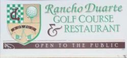 Rancho Duarte Golf Course
